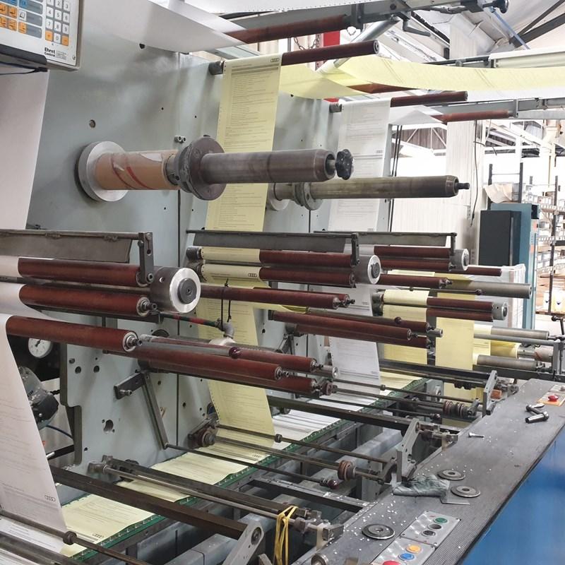 Bielomatik Jumbo Roll Collator