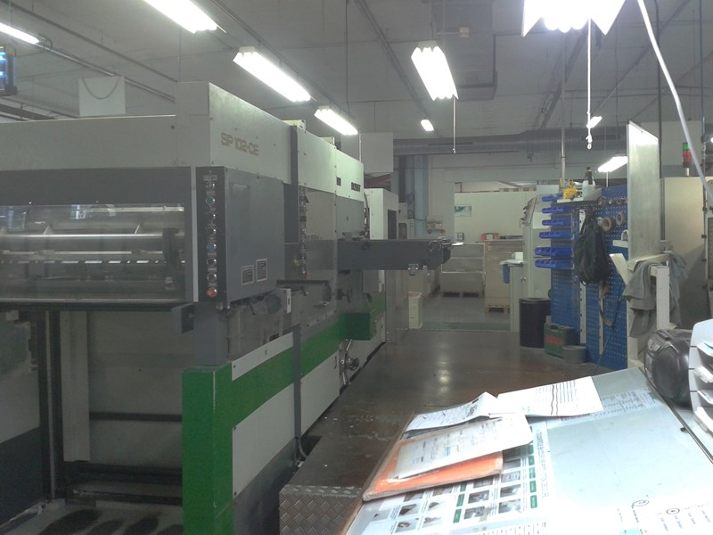 Show details for Bobst SP 102 CE