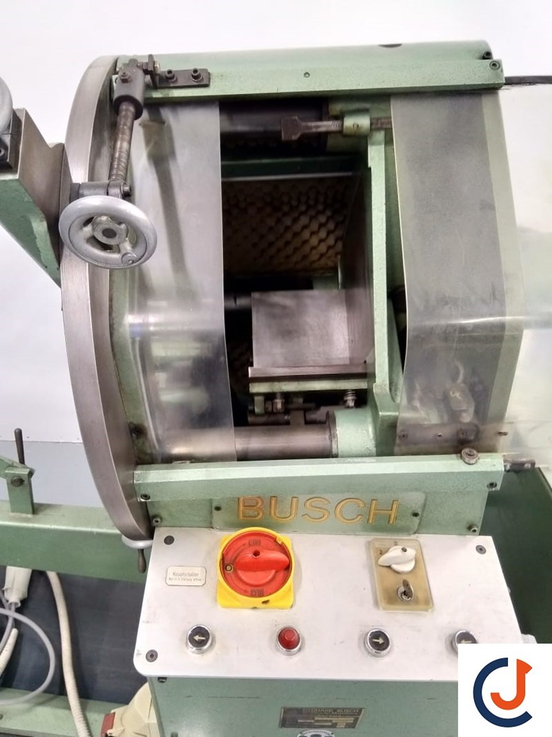 Gerhard Busch B Punching machine