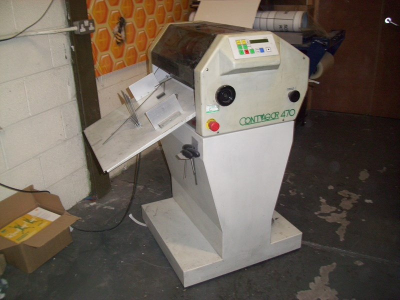 Show details for Contagor 470 numbering machine