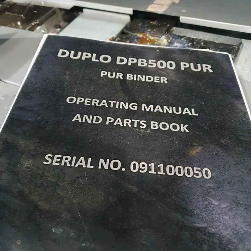 Duplo DPB-500 PUR