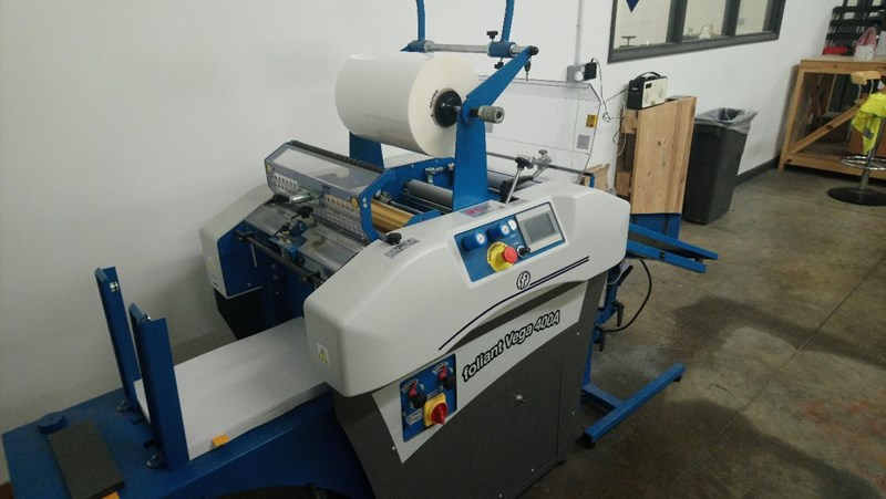 Show details for Foliant Vega 400A Industrial Laminating Machine