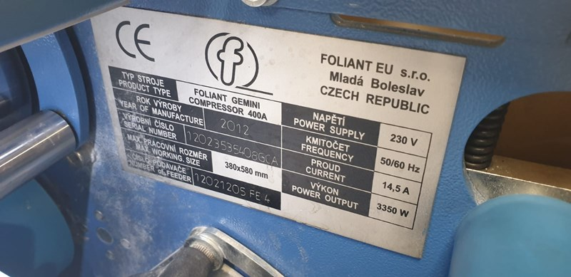 Foliant Gemini 400 A