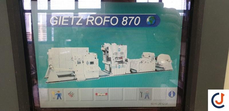 Gietz ROFO 870