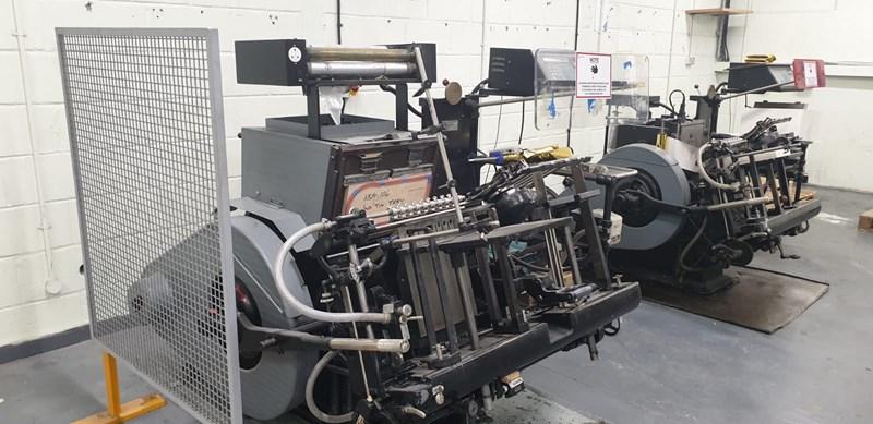 Show details for Heidelberg GT 13 x 18 Platen