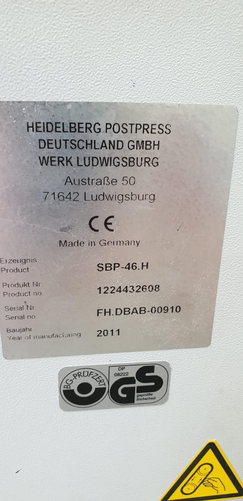 Heidelberg Stahl SBP 46 H