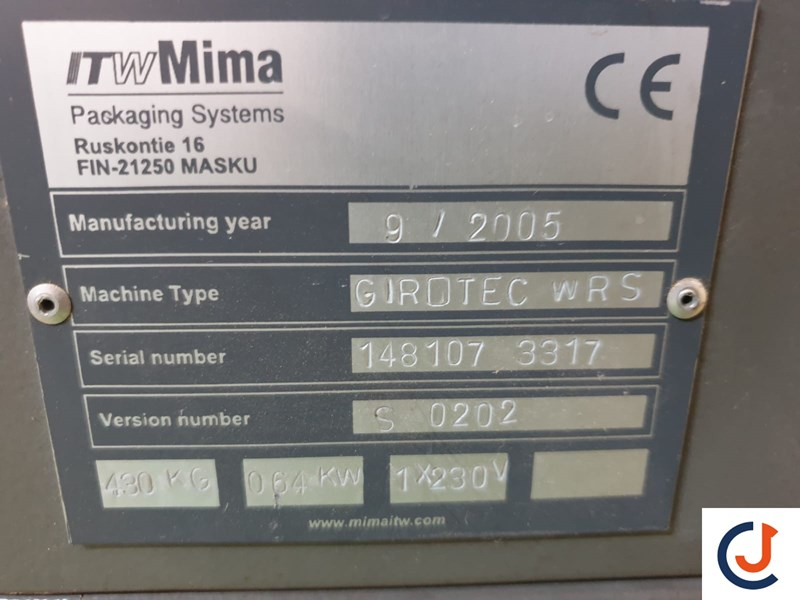 Show details for ITW Mima GIROTEC WRS