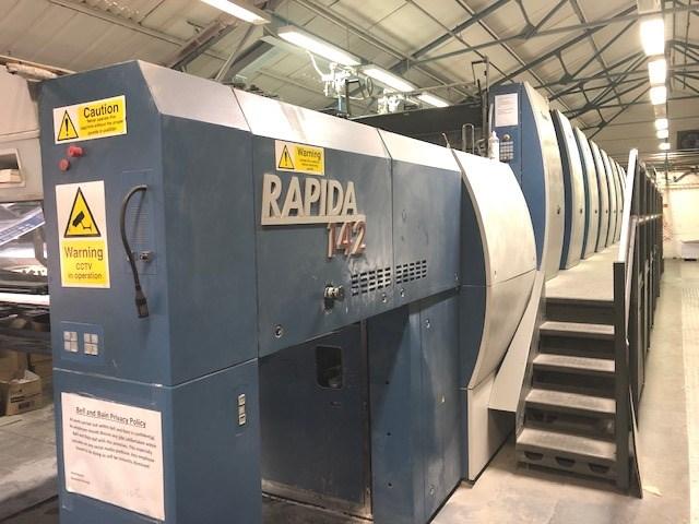 Show details for KBA Rapida 142 -8 SW-4 FAPC