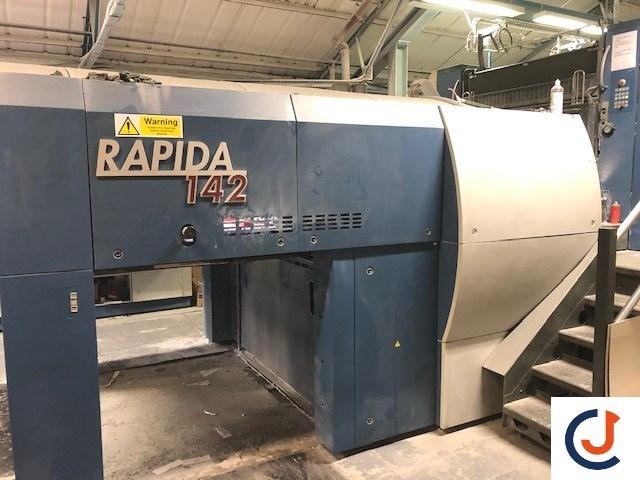 KBA Rapida 142 -8 SW-4 FAPC