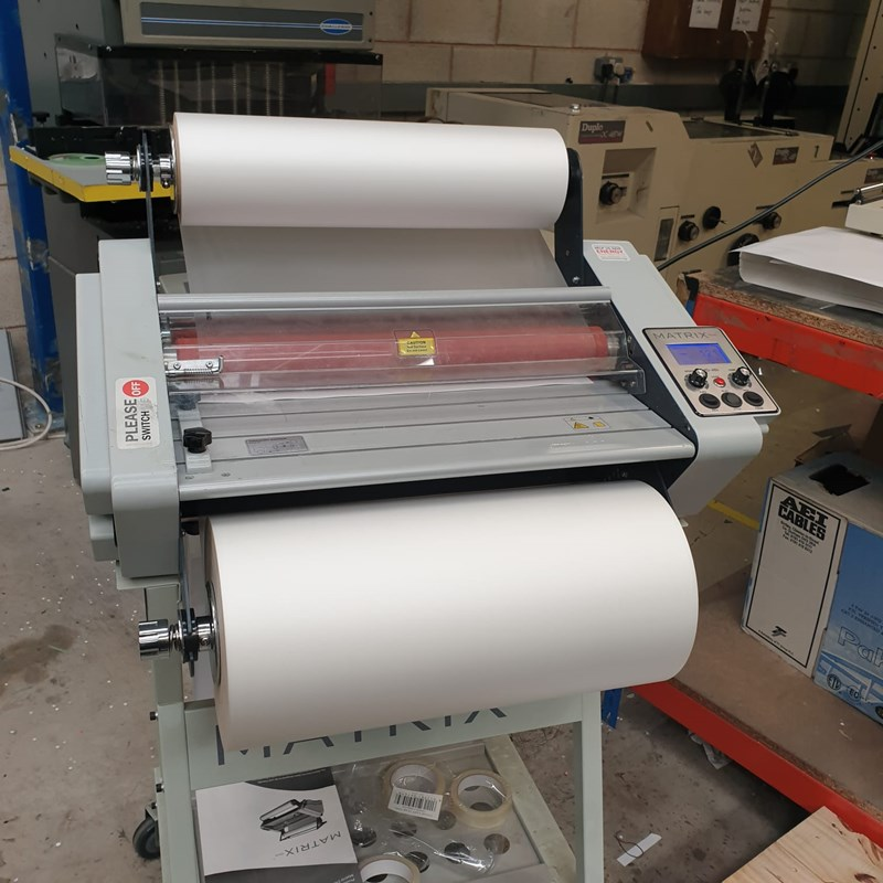 Show details for Matrix Duo 460 Laminator