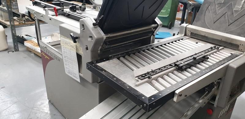 Show details for  Morgana UFO 2 Paper Folding Machine