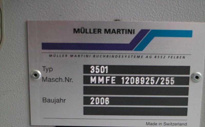 Muller Martini 3501 Book Saw