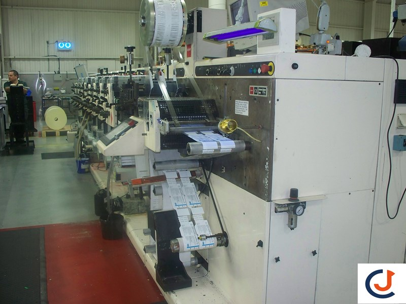 Nilpeter FA2 500 Series  8 Col