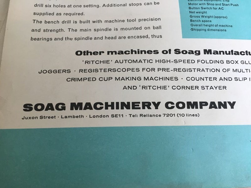 Soag T 4060 Automatic Heavy Duty