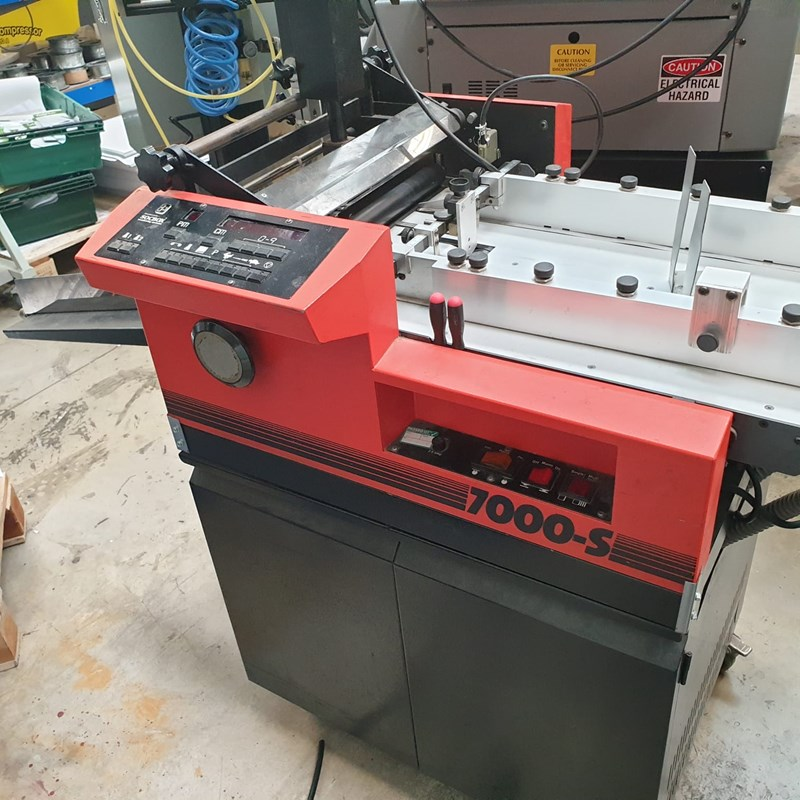 Show details for SOCBOX 7000S Automatic Crash Crash Numbering Machine
