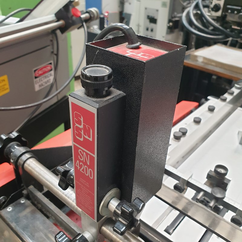 SOCBOX 7000S Automatic Crash Crash Numbering Machine