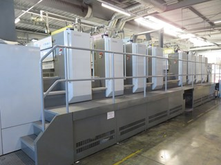 Komori GL840P Sheet Fed