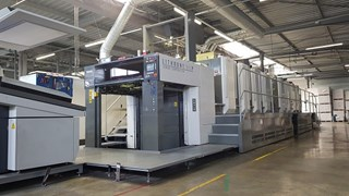 Komori GL840P AAPC HUV Sheet Fed