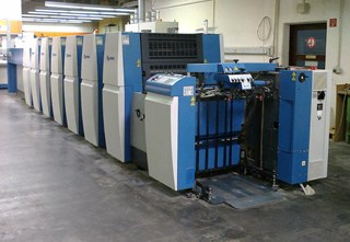 KBA Rapida 75-5 + L Sheet Fed