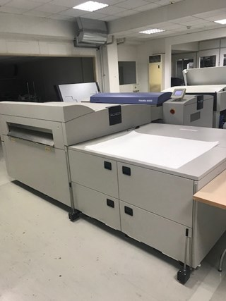 Screen PlateRite 8600S CTP-Systems