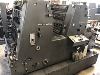 Heidelberg GTO 52-ZP+ Sheet Fed