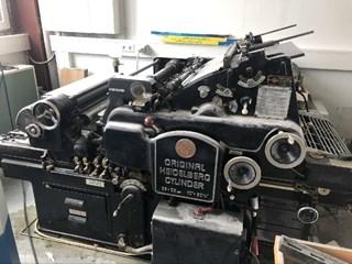 Heidelberg KS cylinder Buchdruck-Zylinder & Tiegel