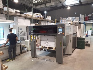 Komori Lithrone GL440+C Sheet Fed