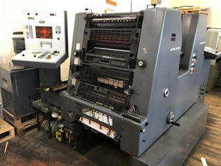 Heidelberg GTOZP-S-52 Sheet Fed