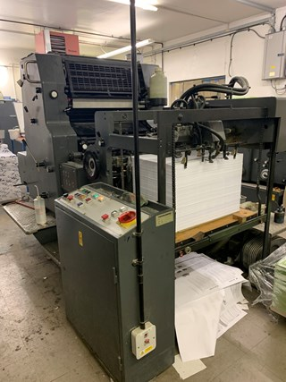 Heidelberg MO-S Sheet Fed