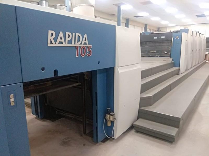 Show details for KBA Rapida 105-6L ALV2 CX HYBRID
