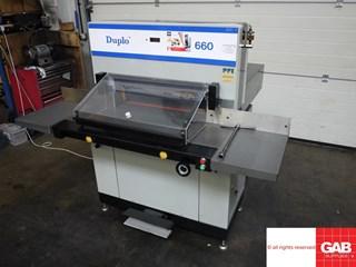 Duplo 660 PFI guillotine  Guillotines/Cutters