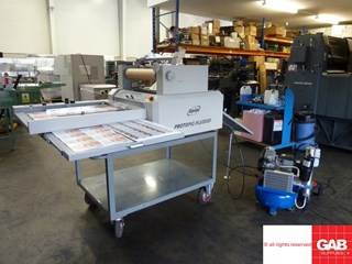 GMP Protopic Plus 520 Laminator  Laminating and coating
