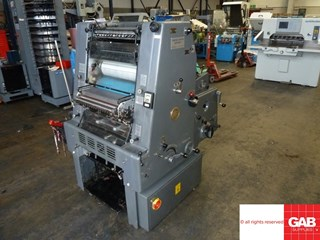 Heidelberg GTO 46 offset with Numbering  Offset de pliegos