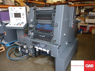 Heidelberg GTOZ-S 52 two colour offset  Sheet Fed