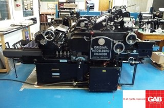 Heidelberg KSB Cylinder  Die Cutters - Automatic and Handfed