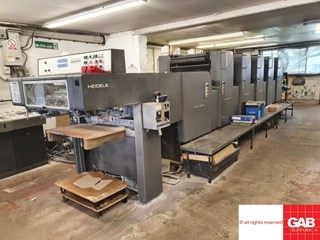 Heidelberg MOF+L Machines offset à feuilles
