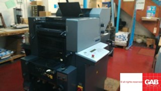 Heidelberg QM 46-2 two colour offset  Sheet Fed