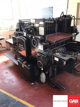 Heidelberg SB Die Cutters - Automatic and Handfed