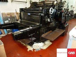 Heidelberg SBB Cylinder Troqueladoras - Automáticas y Handfed