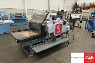 Heidelberg SB converted to Die Cutter Die Cutters - Automatic and Handfed