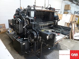 Heidelberg SBG cylinder  Die Cutters - Automatic and Handfed