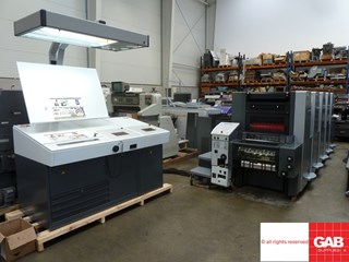 Heidelberg SM 52-5 five colour offset