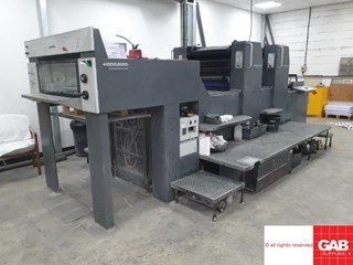 Heidelberg SM 74-2H  Sheet Fed