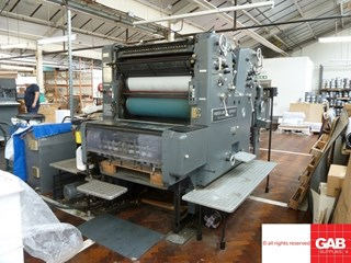 Heidelberg SORD/Z Sheet Fed