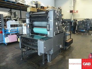 Heidelberg SORM single colour offset  Sheet Fed