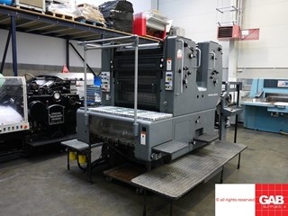 Heidelberg SORM/Z two colour offset  Offset de pliegos