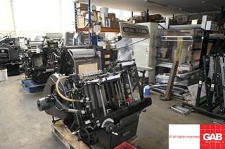 Heidelberg T-Platen Troqueladoras - Automáticas y Handfed