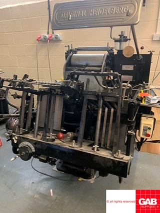 Heidelberg T-Platen  Die Cutters - Automatic and Handfed