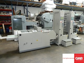 Horizon Booklet Maker - SPF-10A + VAC-100A + VAC-100C  Booklet production