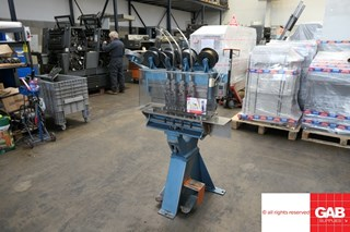 Interlake Model P Multi Head Book Stitcher  ENCARTEUSES PIQUEUSES